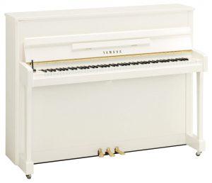 ヤマハアップライトピアノb113pwh